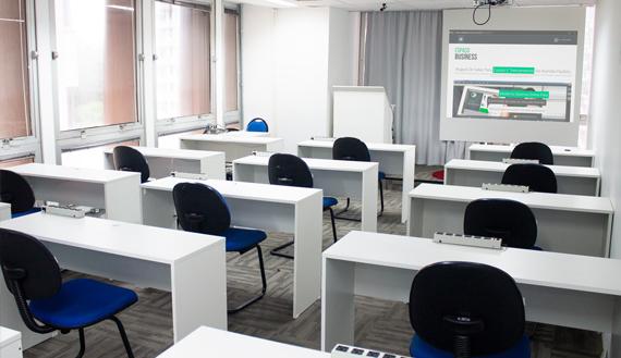 aluguel salas para cursos sp